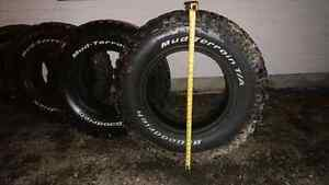 "4 Used 35"" BF Goodrich Mud Tire - Terrain  Tires"