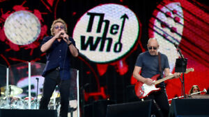 The Who Moving on Tickets...June 1 CHEAPEST FLOOR Make an Offer