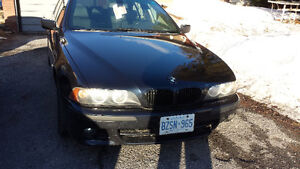 2003 Bmw 540 loaded moon roof great shape 200klms needs tra