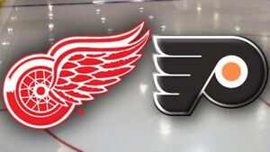 Dec 11 - Flyers vs Red Wings -Blue Line seats ****MAKE OFFER****
