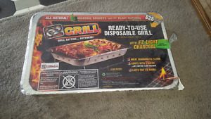 Ez- GRILL Ready to Use Disposable Grill