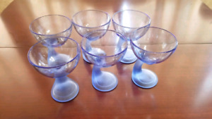6 Piece Great Quality Juice or Cocktail Goblets-Best Quality