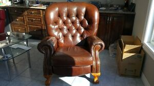 Leather Lazy Boy Recliner