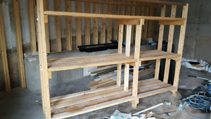 2x4 storage shelves