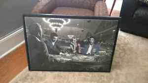 45inch elvis presley,marilyn monroe poker wall photo