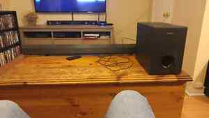 Sony sounds bar with sub