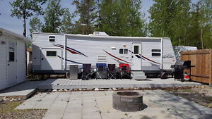 Awesome Trailer w/ Bunk house on Leased Lot Candle Lake