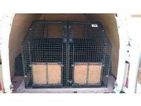 Guardsman dog cage with divider