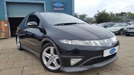 2007 HONDA CIVIC TYPE S GT,EXCELLENT EXAMPLE,ONLY 65K, FSH