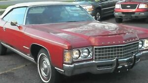 WANTED ****1971 CHEVROLET IMPALA CONVERTIBLE ****