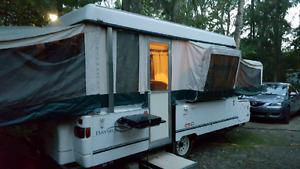 2002 Coleman tent trailer