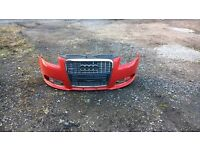A3 2007 s line bumper and grill (could do with a respeay)