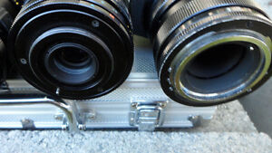 6 35mm Camera Lenses Various Mounts $60 All. Unknown mounts... Prince George British Columbia image 7