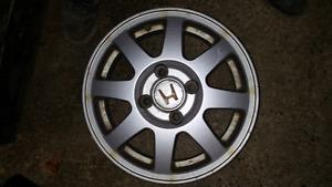 """15"""" Honda 4 bolt civic/accord rims"""
