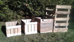 Crates and Storage boxes custom made