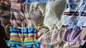 0-3 months old baby boy clothing