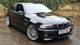 STUNNING LOOKING BMW M3 COUPE SMG 343BHP STRAIGHT SIX - 0-60 IN 5.2SECS!