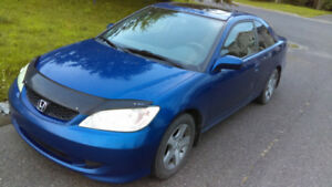 2004 Honda Civic Si Manuelle 5 vitesses Négociable
