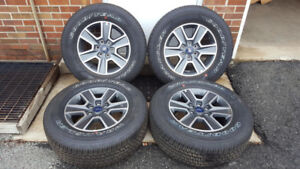 2017 Ford F150 OEM Wheels and tires - New with Sensors