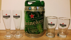Heineken Mini Keg - with 4 glasses