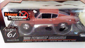 "1968 Plymouth  "" 340 Barracuda""  1/18 Highway 61 diecast"
