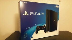 PS4 Pro BNIB (opened to check, never used)