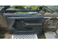 VW Golf mk3 GTI colour concept leather door cards will fit anniversary Gti vr6 Cl gL 3dr three door