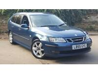 Saab 9-3 1.9TiD ( 120bhp ) SportWagon 2005MY Vector Sport with LOW MILES