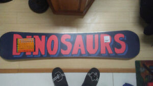 "Brand New Snowboard (Dinosaurs Will Die ""The Rat"" 151)"