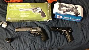 2 co2 handguns
