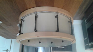 Custom Maple Rim Snare Drum
