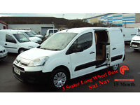2013 CITROEN BERLINGO 1.6HDi 90PS L2 750 LX WHITE DIESEL VAN
