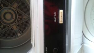 Washer  and Dryer,  Combined  Unit
