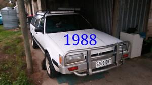 3x Subaru Wagons $3000 lot