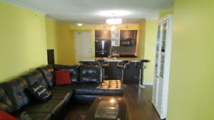 Fully Furnished 2 Bed & 2 Bath At King George Skytrain Station