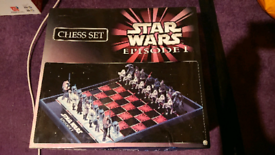 Star Wars Episode 1 chess set Model 95138