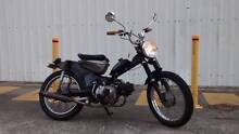 Learner App 1977 Cafe Racer Postie Bike All Black North Ward Townsville City Preview
