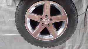 20 inch Dodge Ram Rims with BFG all terrain (winter )tires