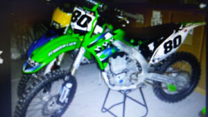 2014 kx 450f, many extras, lows hrs.