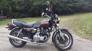 Classic 1983 Suzuki GS 850 in MINT CONDITION with LOW KILOMETERS