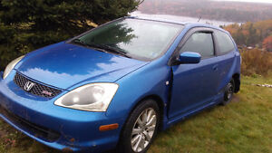 04 SIR civic hatchback .....parts only!