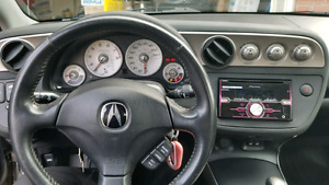 2002 acura rsx silver (very good condition)