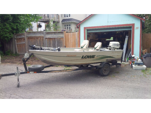 Used 2001 Lowe Boats Sea Nymph