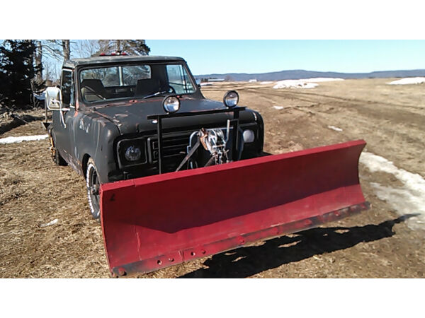1977 International Harvester Scout Terra Pickup Truck Plow truck