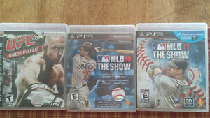 3 PS3 Games In Perfect Condition