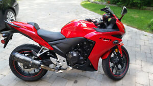 2013 CBR500R + Two Brothers Exhaust + Extra