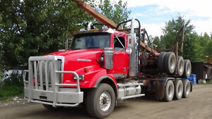 2011 and 2012 Western star long loggers for sale