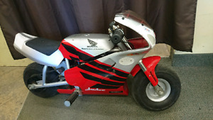 24V Honda Electric Motorcycle $250 obo
