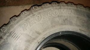 "35"" Used Procomp Mud Terrain Tires"