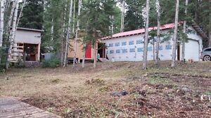 Lakeshore Property with Outbuildings Prince George British Columbia image 4